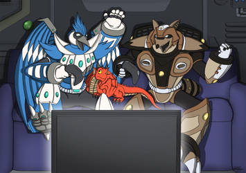 Maverick Hunters are Slackers by TargonRedDragon
