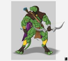 Return of the Lizardman - Hotara 2016 by TargonRedDragon