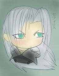 .:Sephiroth:. Chibi by NightmareSherbert