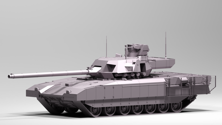 T-14 Armata Model WIP by TigerclawAUT