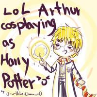 Arthur Potter - APH - by 0-w-VaLe-Chan-w-0