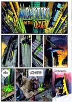 Old Batman Coloring by mmacklin