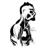 inktober Black Panther by mmacklin