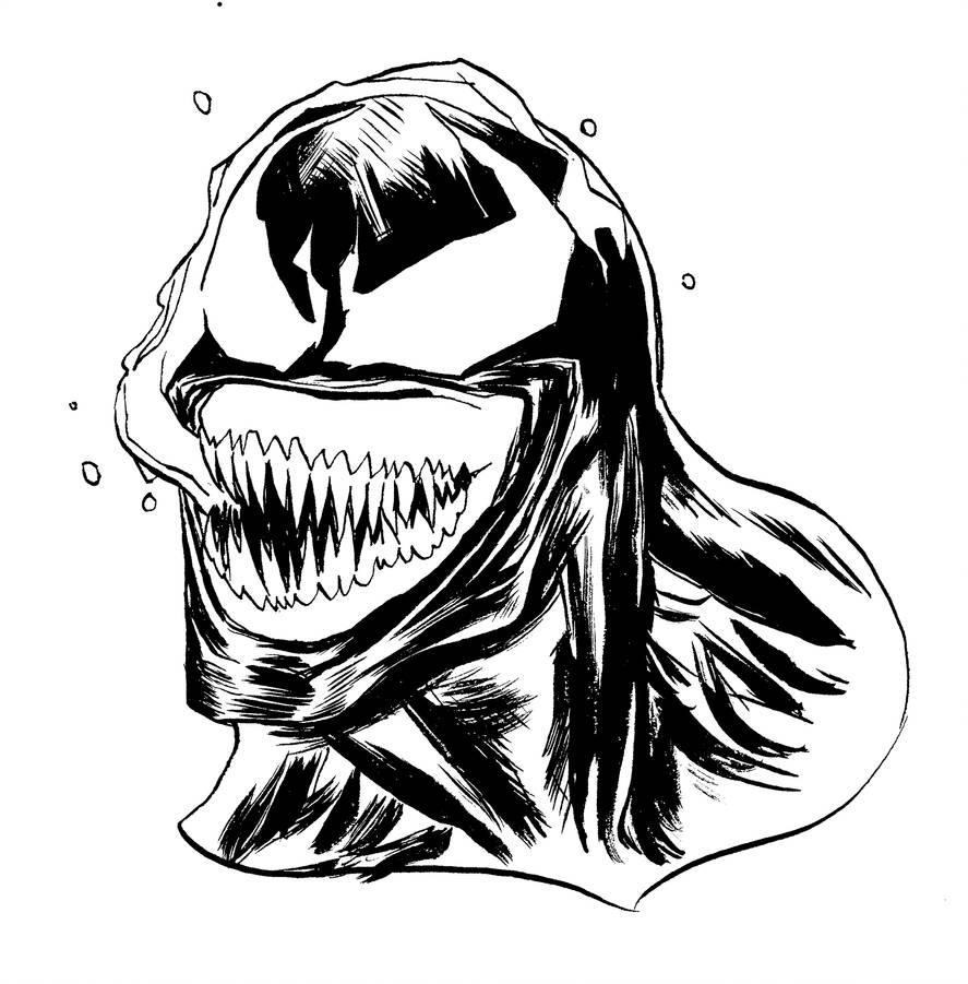 inktober Venom by mmacklin