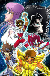 Saint Seiya  by DiegoMaryo