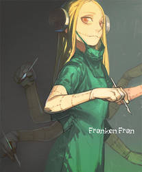 Franken Fran by Shioshiorz