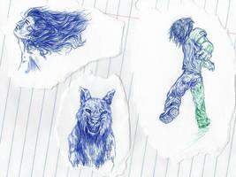 Sketchdump by 13cupcakes