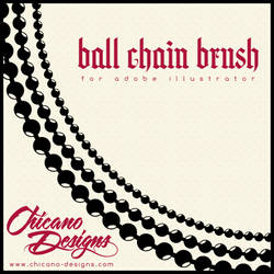 Ball Chain Brush by ChicanoDesigns