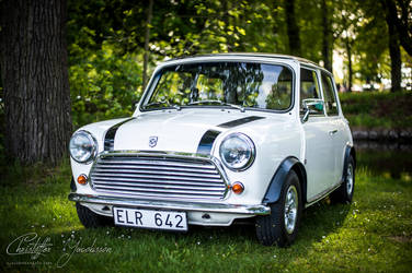 Austin mini by CJacobssonFoto