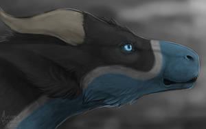 Audrea Profile Speedpaint by Scaleeth