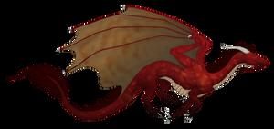 Red Weastern Dragon by Scaleeth