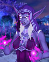 First Arcanist Thalyssra by Cazareal