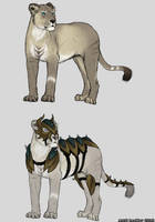 Lioness Design by LeoNoy