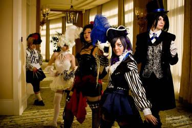 Kuroshitsuji: Circus by bekalou-cosplay