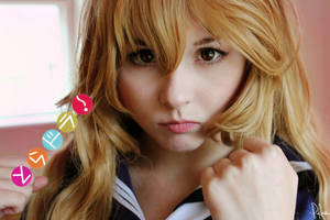 Aisaka Taiga cosplay by ShlachinaPolina