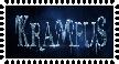 Krampus stamp by Toothy-the-Skunkcoon