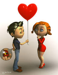 Valentine's day by smay3d