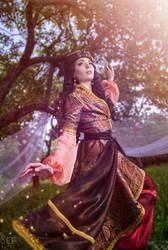 Queen of Shemakha - Tale of the Golden Cockerel II by scentless-flower