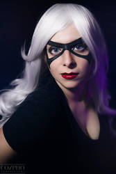 Black Cat: Model Glamour by StormWildcat