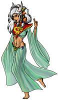 Dragonlady by Coyotzin