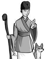 Myobu Kitsune by Coyotzin