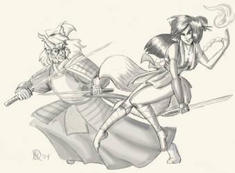 Uneven Duel by Coyotzin