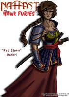 'Red Storm' Behari by Coyotzin