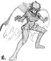 Black Bat by Coyotzin