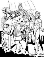 Greek Myths-The Argonauts by Coyotzin