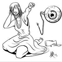 Greek Myths-Lamia by Coyotzin
