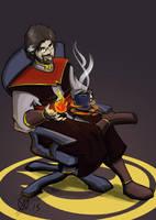 Firelord Alex by Coyotzin