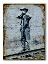 Frank Erickson -The Shootist -  Dakota 1930s by DocSonian