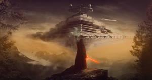 Star Wars: Kylo Ren. (Fan Art) by VladMineev