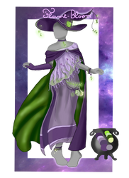 Geode Witch - OUTFIT ADOPT - Closed by Flame-Bloom