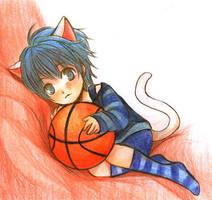 Kitten Kuroko by Oranaus