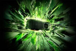 Nvidia Keyvisual Geforce GTX by Jesar
