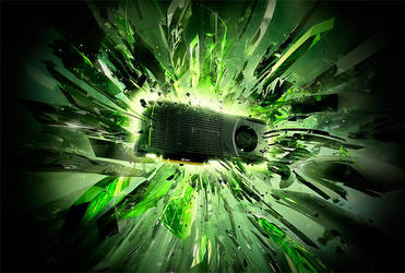 Nvidia Keyvisual Geforce GTX by Jesar