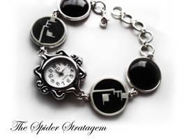 Gothic watch 'Bauhaus' by TheSpiderStratagem