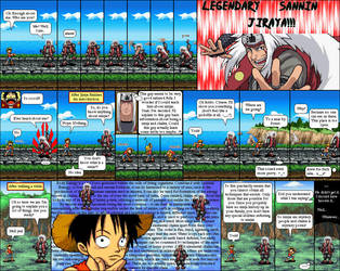 One Piece, Naruto 04 by Abraal