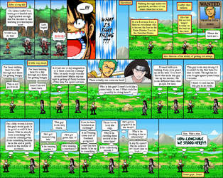 One Piece, Naruto 05 by Abraal
