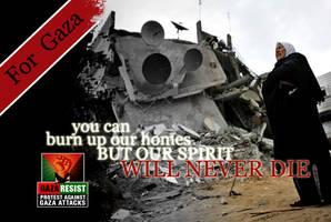 for the spirit of Gaza by anitaru