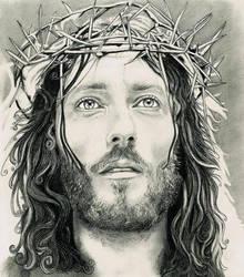 Jesus of Nazareth by georginaflood