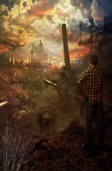 Destroyed City by LTrevill