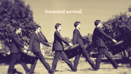 TRANSCEND SURVIVAL. by K-O-S-A-K