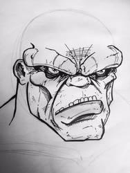 THE INCREDIBLE Hulk by AbelToledo