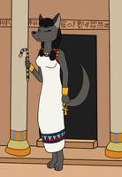 Queen Of The Nile by pikachao-omega