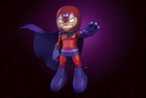 Magneto - Big Head Figure by MarkosVigil