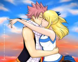 When They Kiss by marmewa
