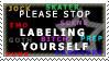 Labels Stamp by AGoddessFinch
