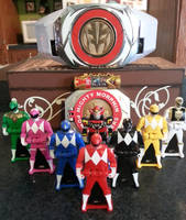 It's Morphin' Time! by D-Rock92